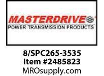 MasterDrive 8/SPC265-3535 8 GROOVE SPC SHEAVE