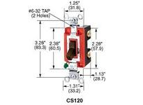 HBL-WDK CS1201BU SWITCH COM SP 15A 120/277V BR USA