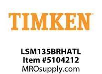 TIMKEN LSM135BRHATL Split CRB Housed Unit Assembly