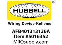 HBL_WDK AFB401313136A PW AFB401 3/3/2 (2) 5362G L1 L3PW BL