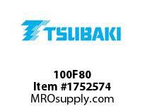 US Tsubaki 100F80 100F80 QD SPKT HT
