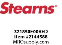 STEARNS 321850F00BED BRAKE3218 6#FT EL NO MR 171917