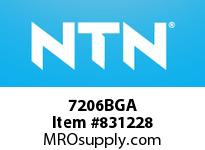 NTN 7206BGA Extra Small/Small Ball Bearing