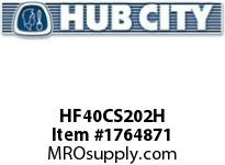 HubCity HF40CS202H HUB HF40X2-1/8 HUBFLEX Coupling Component