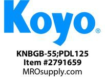 Koyo Bearing GB-55;PDL125 NEEDLE ROLLER BEARING