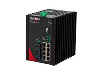 NT24K-10GX2-SC 10-Port Gigabit Managed Industrial Ethernet Switch (8 10/100/1000BaseT 2 1000BaseSX multimode 5