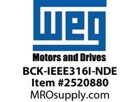WEG BCK-IEEE316I-NDE BEARING CAP KIT - IEEE NDE Motores