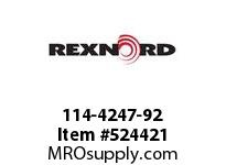 REXNORD 114-4247-92 KU5700-32T 80MM KW NO SS 171049