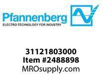 Pfannenberg 31121803000 BExBG 10-D 24V DC YE Explosive Area 1 Hz Flashing Xenon Strobe Beacon 10 Joules 24 VDC Ex-Fla