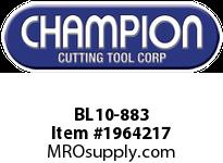 Champion BL10-883 CARB TIP LEAD ANGLE TURN TOOL