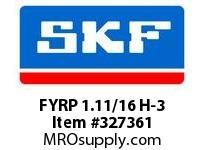 SKF-Bearing FYRP 1.11/16 H-3