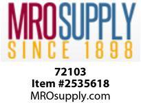 MRO 72103 1 X 3 SC80 BLACK SEAMLESS