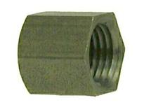 MRO 67471 1/4 BLACK STEEL HEX CAP (Package of 10)
