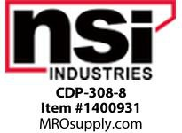 NSI CDP-308-8 COPPER PRESS ON SIDE A: 2 STR 1 STR 10 STR SIDE B:6 SOL4 SOL 4 STR 2 SOL 2 STR 1 STR 1/0 STR