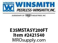 WINSMITH E35MSTA5Y200FT E35MSTA 50 DLR 56C BUSH 1.25 WORM GEAR REDUCER