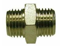 MRO 28803 3/8 X 1/8 M BSPP N-PLTD HEX NIPP
