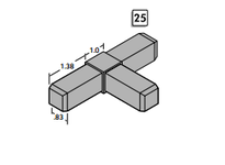 System Plast FT-25-PA-JT3-BK FT-25-PA-JT3-BK