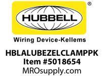 HBL_WDK HBLALUBEZELCLAMPPK RACEWAY ALU BEZEL CLAMP 10PK