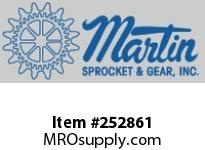 "Martin Sprocket 24TCP10-12 24"" PLAIN COVER"