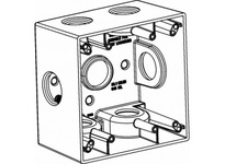 Orbit 2DB100-7X 2-G W/P BOX 7 1^ HUBS 2-5/8^ DEEP