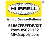 HBL_WDK S1R6CFBFFDIVKIT 2G CFB ROUND FF DIVIDER KIT