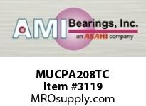 AMI MUCPA208TC 40MM STAINLESS SET SCREW TEFLON TAP