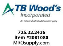TBWOODS 725.32.2436 MULTI-BEAM 32 1/4 --1/2