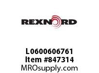 REXNORD L0600606761 GG600-8T 25MM