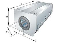 INA KTSG20PPAS Max? linear aligning tandem unit