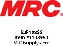 MRC S2F108SS PILLOW BLOCK WASH DOWN