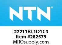 NTN 22211BL1D1C3 SPHERICAL ROLLER BRG D<=203.2