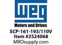 WEG SCP-161-193/110V START CAP.161-193 MFD 110V Motores