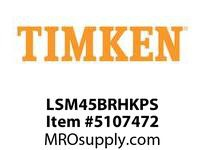 TIMKEN LSM45BRHKPS Split CRB Housed Unit Assembly