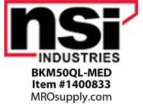 NSI BKM50QL-MED 50W MH QUAD W/ CAP/IGNITOR/BRACKETS W/LAMP