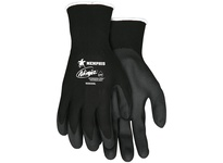 MCR N9699M Ninja HPT 15 Gauge Black Nylon Shell Black HPT Foam Sponge Dipped Palm & Fingertips