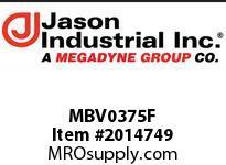 Jason MBV0375F 3/8 MINI BALL VALVE BRASS