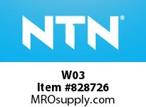 NTN W03 Bearing Parts - Adapters