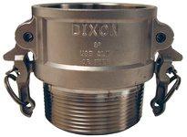 """DIXON RB200BL 2"""" SS CPLR X MALE NPT BOSS-LOCK"""