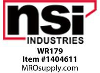 NSI WR179 WIDE RANGE TAP CONNECTOR (AL/CU) ***** SEE CONNECTORS CATALOG FOR WIRE CHART*****