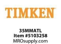 TIMKEN 35MMATL Split CRB Housed Unit Component
