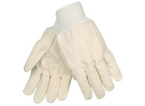 MCR 8200 Cotton Canvas Clute Knit Wrist Medium Weight Straight Thumb Mens