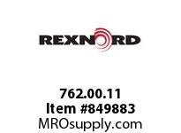 REXNORD 762.00.11 66S11 66S11 1.25 INCH WIDE STRAIGHT RUNNI