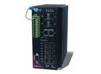 EL212F-DC-V1 12 ports; managed; 8 FE SFP+ 4GE; Dual 18-59 VDC power inputs