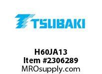 US Tsubaki H60JA13 HT Cross Reference H60JA13 QD SPROCKET HT