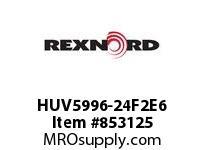 REXNORD HUV5996-24F2E6 HUV5996-24 F2 T6P HUV5996 24 INCH WIDE MATTOP CHAIN W