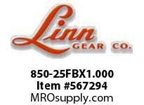 Linn-Gear 850-25FBX1.000 LSB SPROCKET  H1