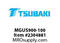US Tsubaki MGUS900-100 Cam-Overrunning MGUS900 100MM