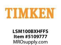 TIMKEN LSM100BXHFFS Split CRB Housed Unit Assembly