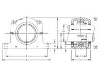 TIMKEN SAF 23040K X 7 1/8 SRB Pillow Block Assembly