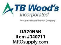 TBWOODS DA70NSB HUB DA70 NON STD BORE